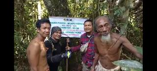Waris Pohon, Kepala Bapeda dan Litbang Tebo Sebut Hutan Simbol Kemakmuran