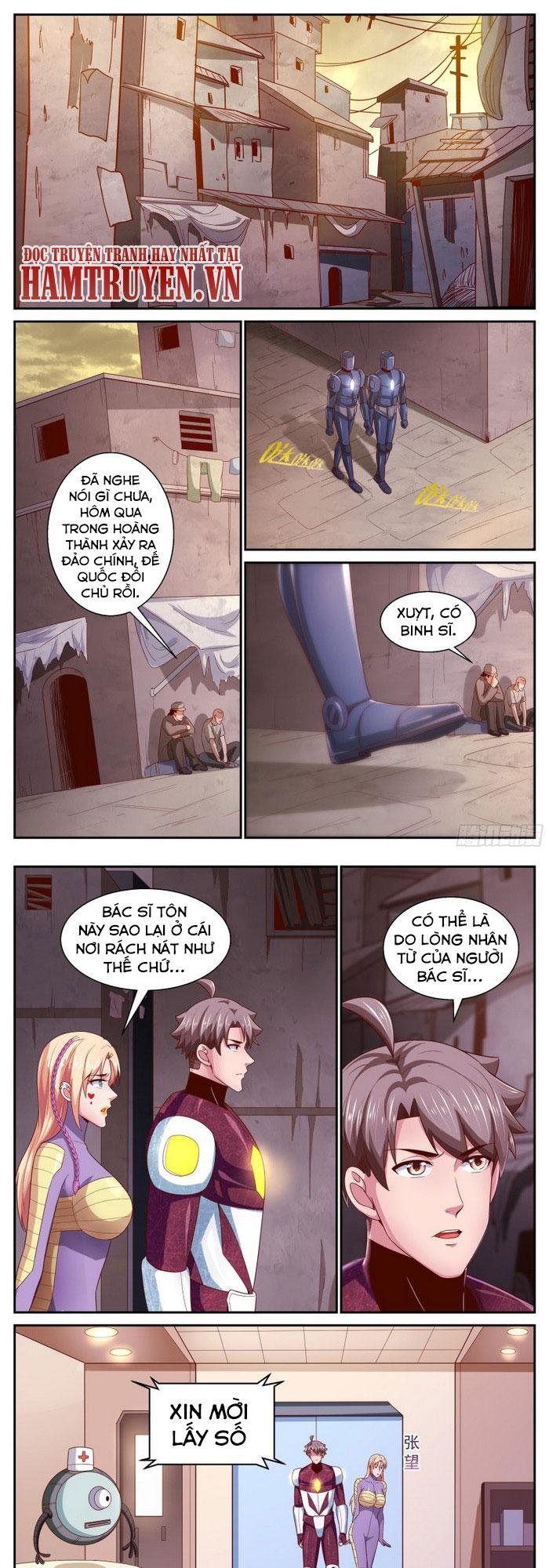 Ta Có Phòng Riêng Thời Tận Thế chap 317 - Trang 1