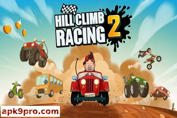 Hill Climb Racing 2 v1.31.0 Apk + Mod (File size 100 MB) for android