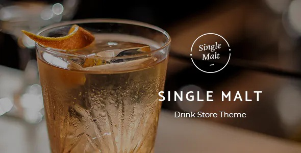Best Drink Store WooCommerce WordPress Theme