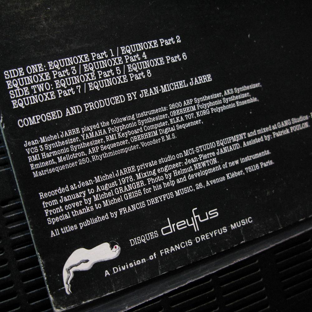 Vinyl2496 Jean Michel Jarre Equinoxe 1978 2496 Lp