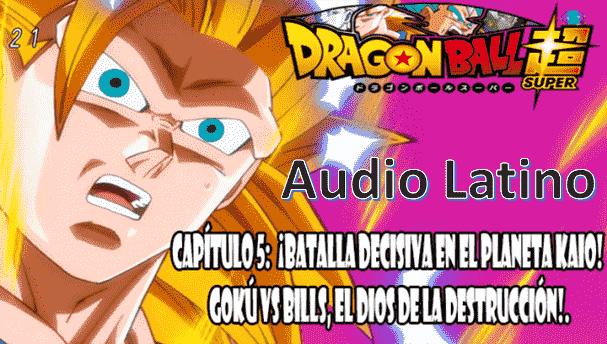 Dragon Ball Super capitulo 5, Kaiōsama intentaba ocultar Goku en su casa derrumbada, e intenta distraer a Bills de la presencia de Goku, Wiss además les recuerda que llevaban 327 años sin verse y de como habia cambiado.