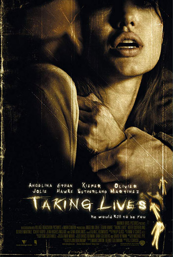 Taking Lives 2004 UNRATED ORG English BluRay 480p 200MB Angelina Jolie�s Movie poster