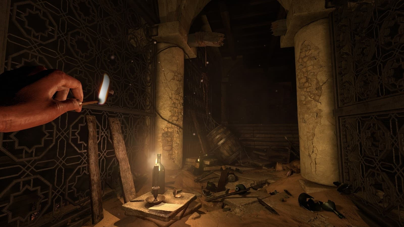 Рецензия на игру Amnesia: Rebirth - неплохой, но безнадёжно устаревший хоррор - 01