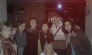 Grupo de asistentes al Concierto de Sara Veneros en La Fidula.