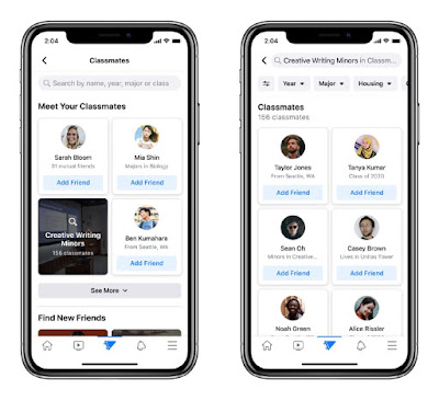Facebook Started New Campus Feature for College Students