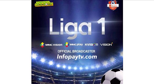 Shopee Liga 1 2020 Tayang di K-Vision dan MNC Vision