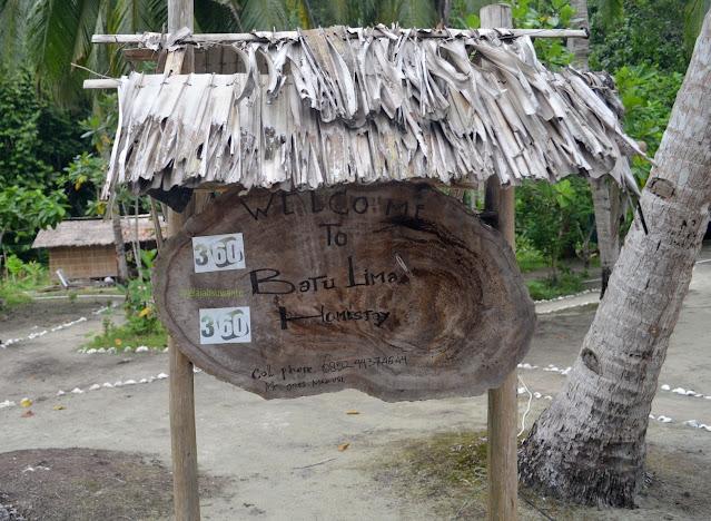 Selamat datang di Batu Lima Homestay Raja Ampat || @jelajahsuwanto