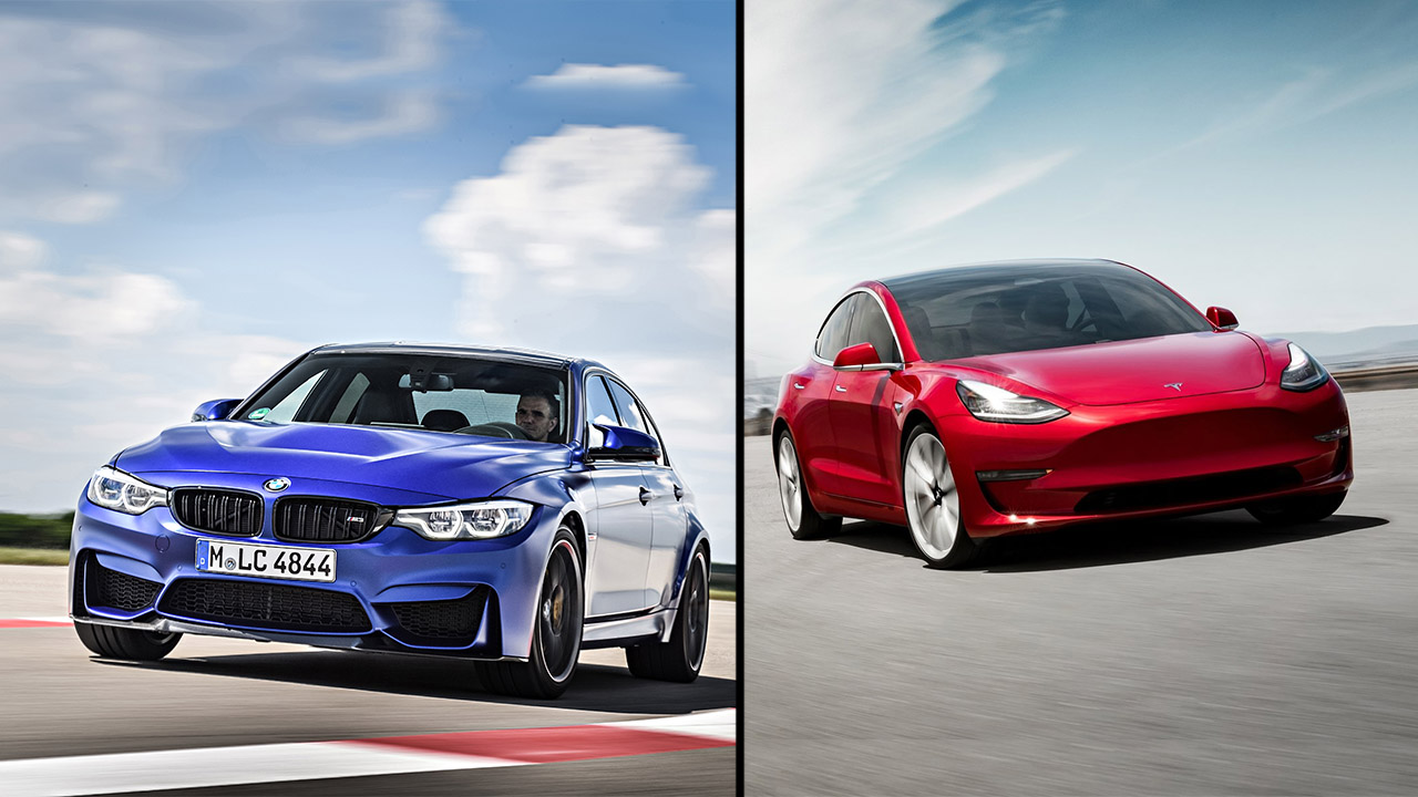 Tesla vs BMW