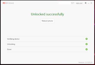 Cara Mudah Unlock Bootloader Permanent Redmi 6 Pro Sakura 2019