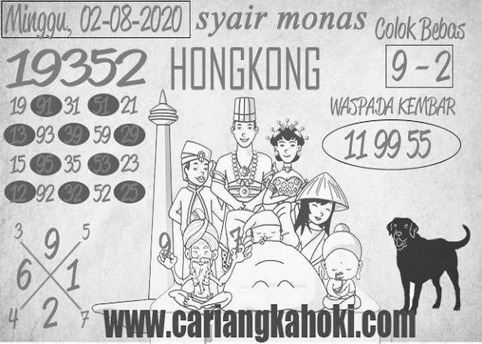Kode syair Hongkong Minggu 2 Agustus 2020 320