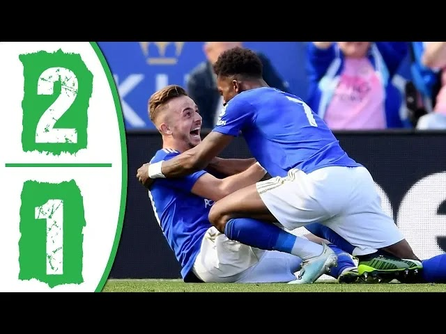 Leicester City vs Tottenham 2-1 All Goals And Match Highlights [MP4 & HD VIDEO]