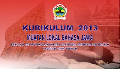 Pelajaran Bahasa Jawa SD Kurikulum 2013