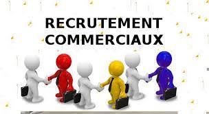 Recrutement agents commerciaux et promotrices