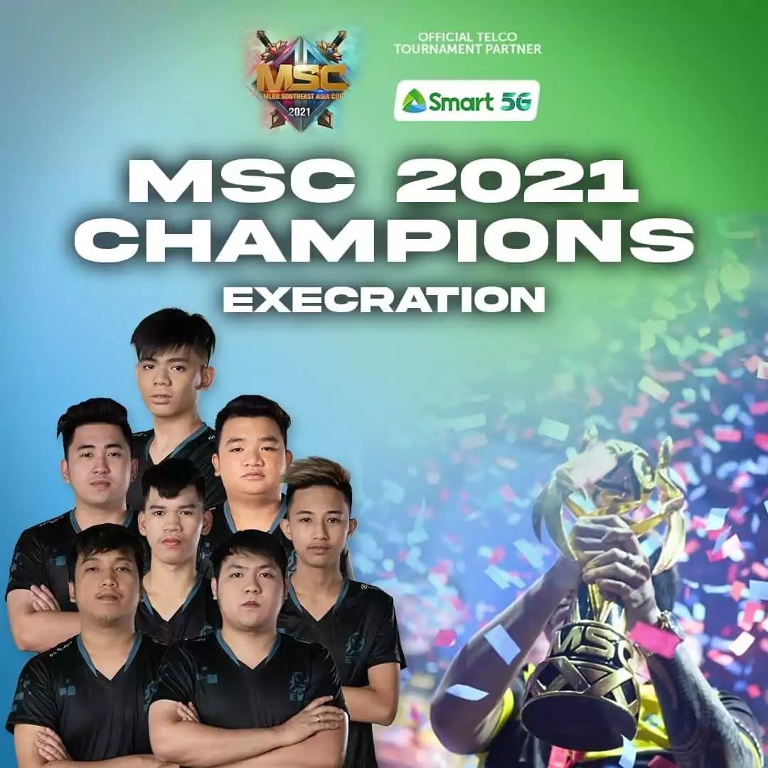 Execration - MSC 2021 Champions