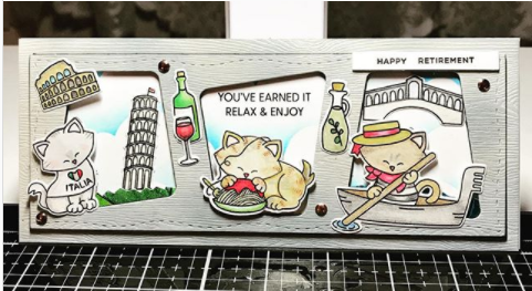 You've earned it. Relax and enjoy by Betty features Newton Dreams of Italy by Newton's Nook Designs; #newtonsnook