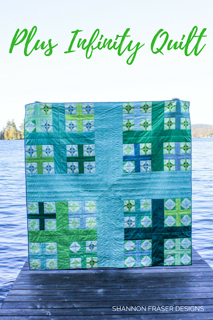 Plus Infinity Quilt Pattern | 2017 Year in Review + 2018 Goal Setting | Shannon Fraser Designs | Modern Quilting