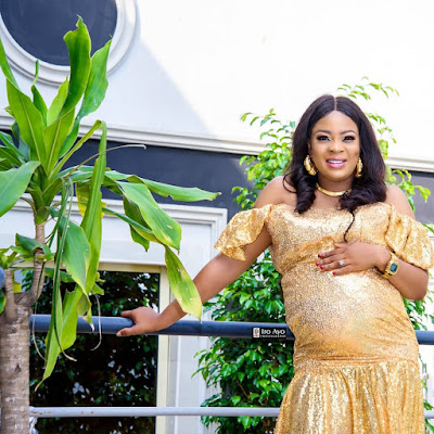 Bidemi Kosoko Baby bump photos