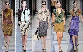 Batik Indonesia dalam rancangan Van Noten
