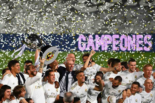 Real Madrid Crowned La Liga Champions For The 34th Time