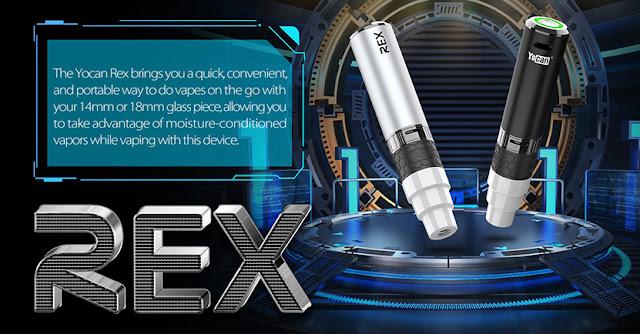 Yocan Rex Enail Vaporizer Kit Preview