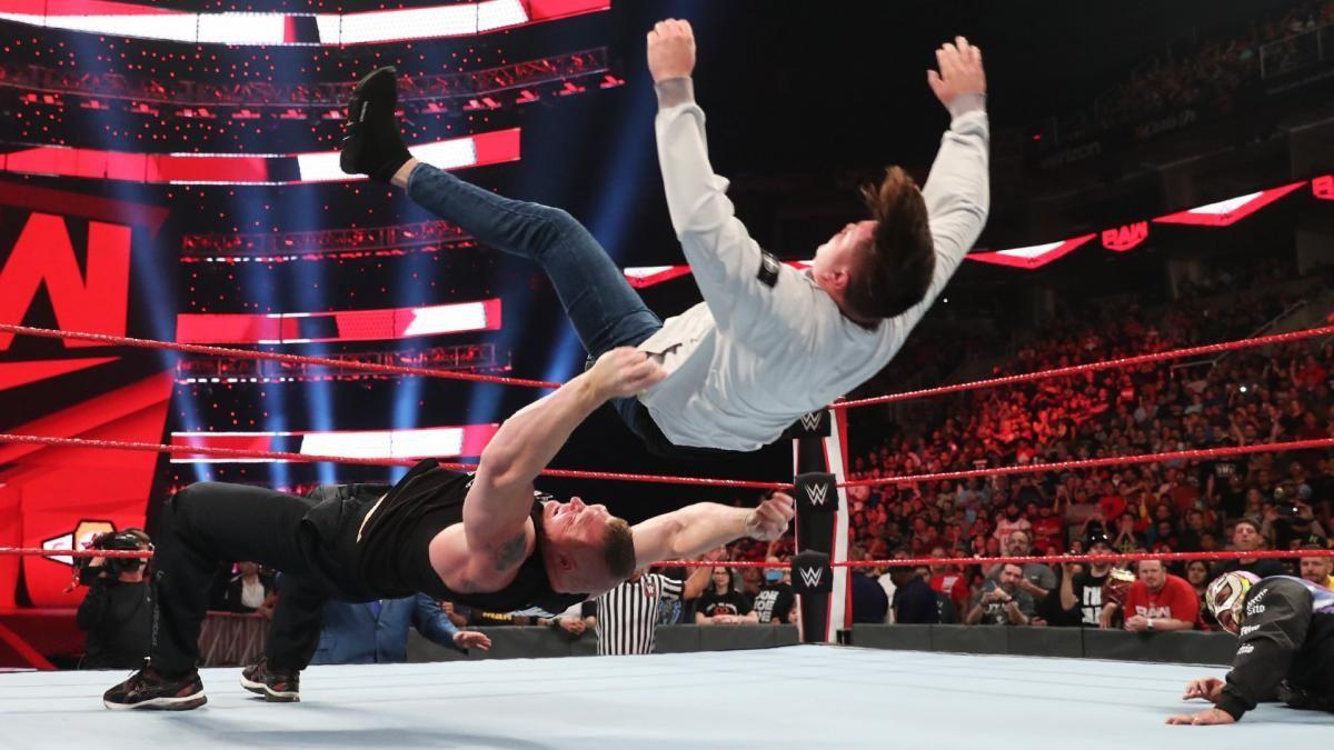 Brock Lesnar ficou impressionado com Dominik Mysterio
