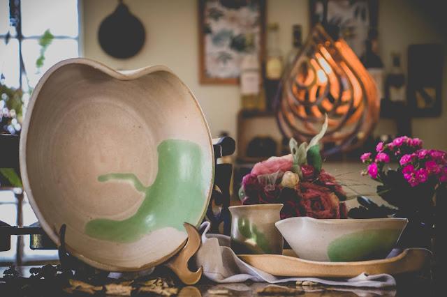 Conjunto de cerâmica