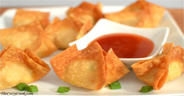 Crispy Crab Rangoon Recipe