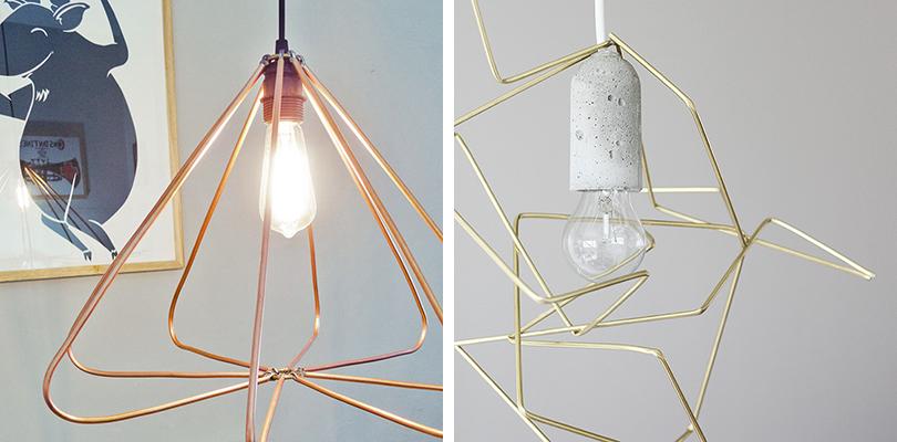 DIY to Try # himmeli pendant light