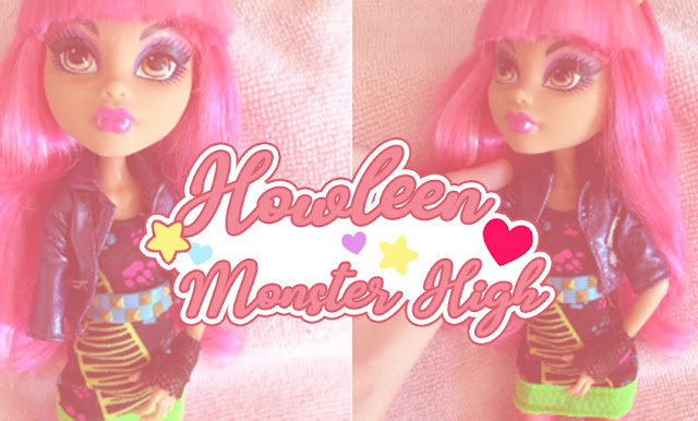 Restauração da Monster High Howleen