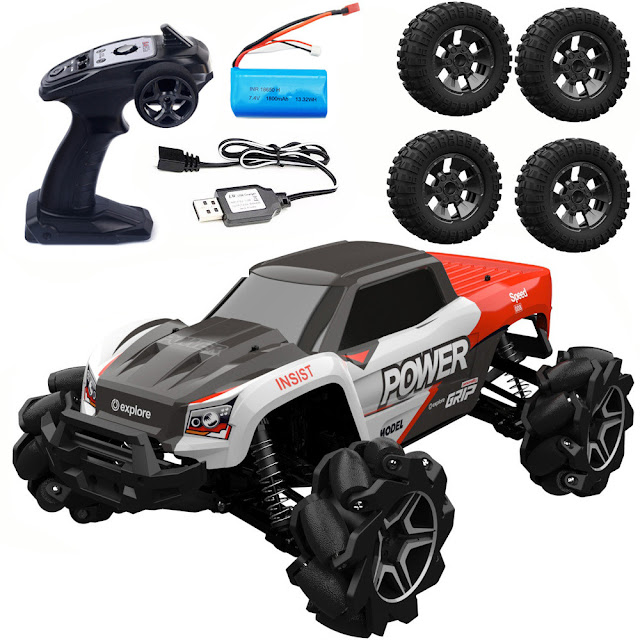 RBRC RB1277A 1/12 2.4G 4WD RC Car Electric Drift Vehicle Full Proportional RTR Model