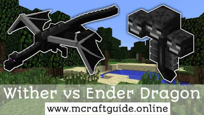 minecraft wither vs ender dragon