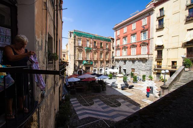 Piazza Carlo Alberto-Cagliari