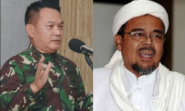 Pangdam Jaya: FPI Bukan Musuh, Habib Rizieq Orang Berilmu