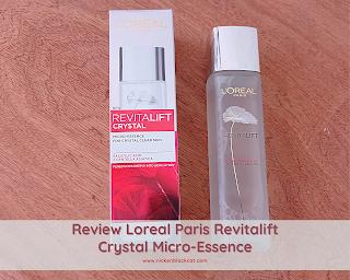 Review Loreal Paris Revitalift Crystal Micro-Essence