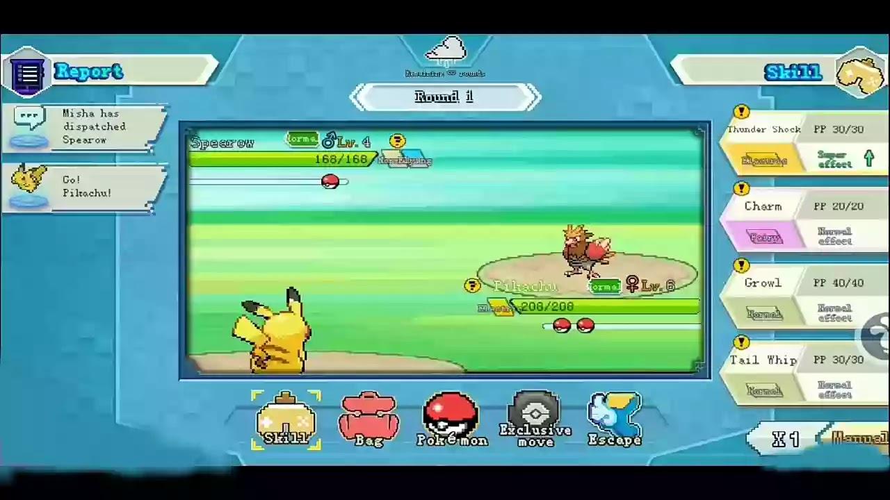 Pokemon games apk Download