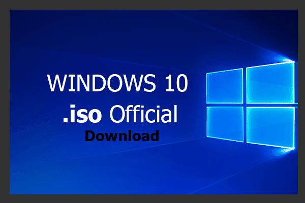 Cara Download .iso Windows 10 Terbaru Official Server Microsoft
