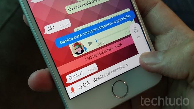 WhatsApp para Android pode ganhar recurso que 'trava' microfone enquanto grava
