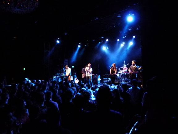 Concert Review: Los Campesinos- A Musical Mousetrap @ The El Rey 10/18/12 - plus The Lovely Bad Things and Moses Campbell