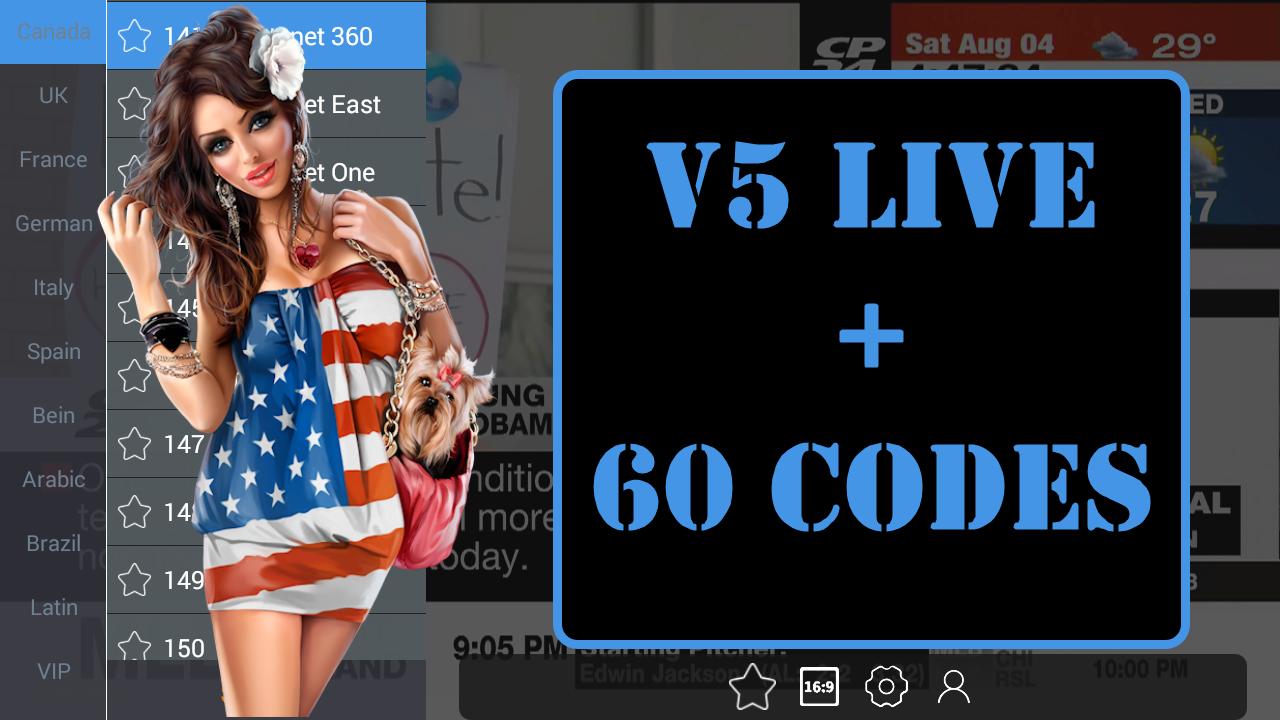 V5LIVE PREMIUM IPTV TO WATCH BEST PREMIUM CHANNELS + 60