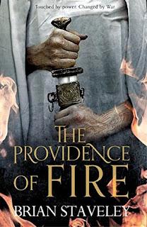 The providence of fire, staveley, copertina
