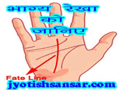 bhagya rekha kya bataati hai jyotish me