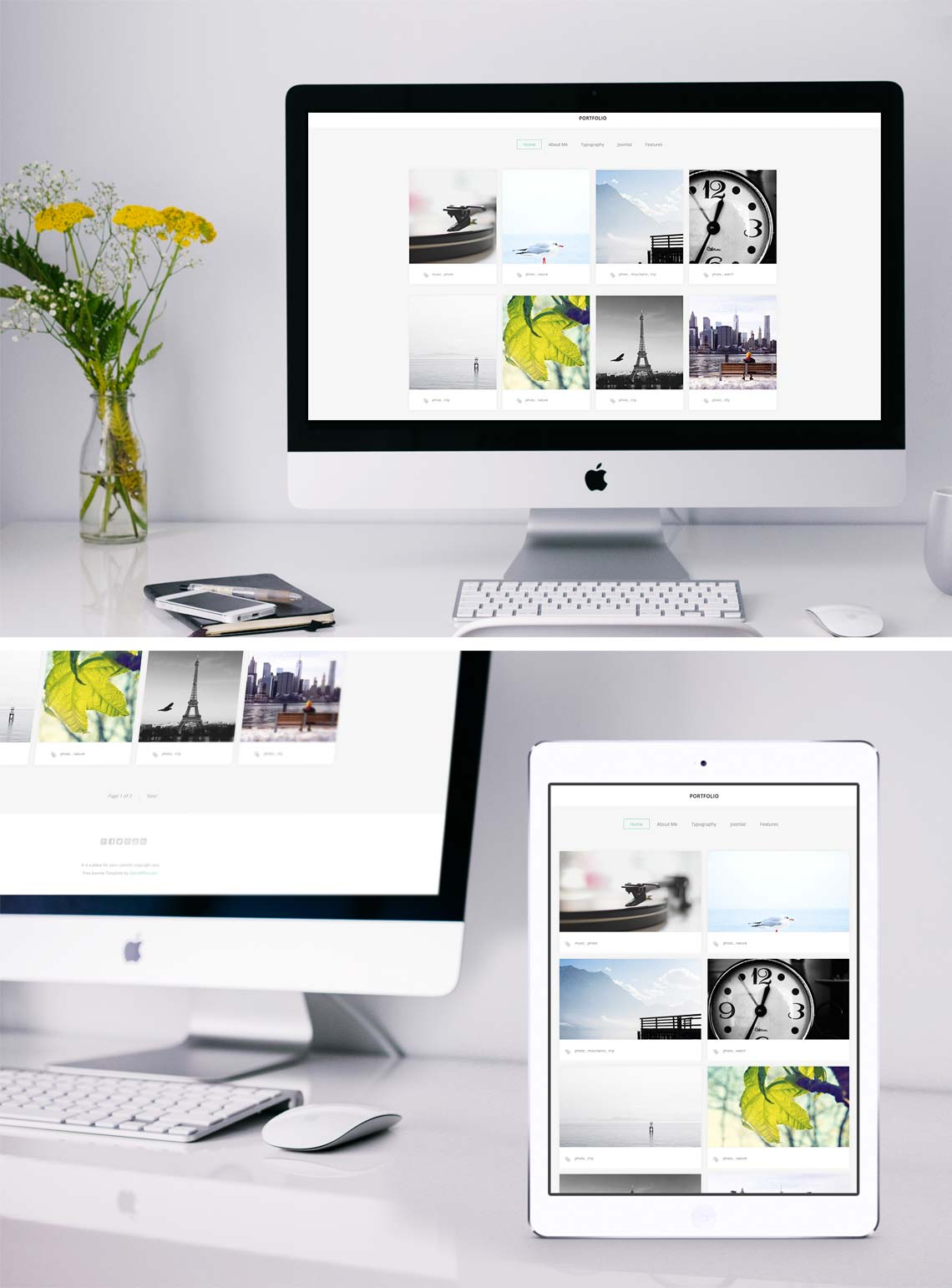 joomla backend templates - photographer portfolio template joomla 3 5 free
