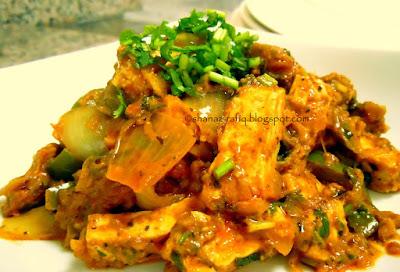 Kadhai Paneer ~ Cottage Cheese Stir Fry
