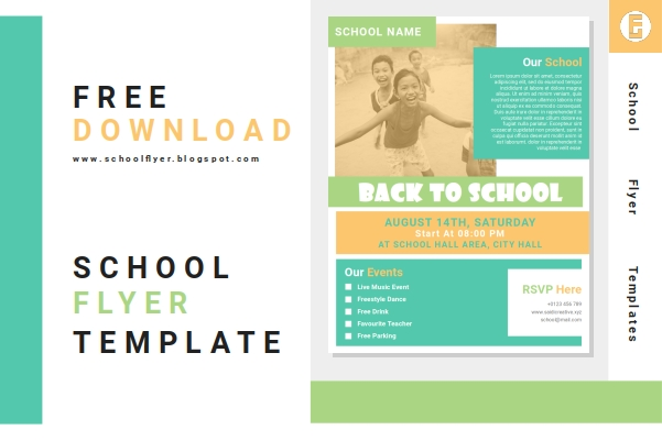 Free Back To School Flyer Templates Word Document File