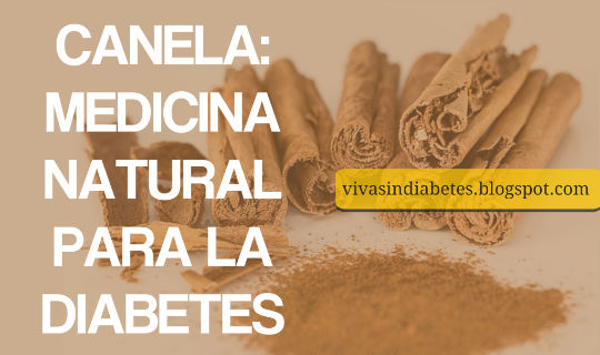 Canela: Medicina Natural para la Diabetes