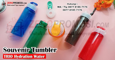 Botol Minum Polos Chielo Trio Hydration Water, botol air minum trio chielo bpa free, Trio Hydration Water Bottle
