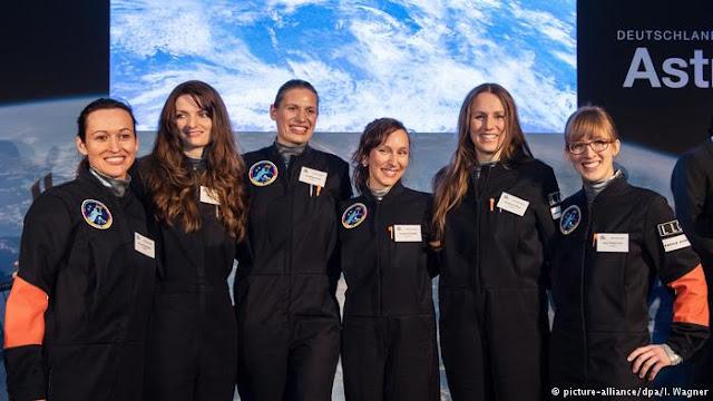 alemanas astronautas