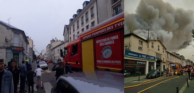 Έκτακτο: Πυρκαγιά στις Βερσαλίες (βίντεο)