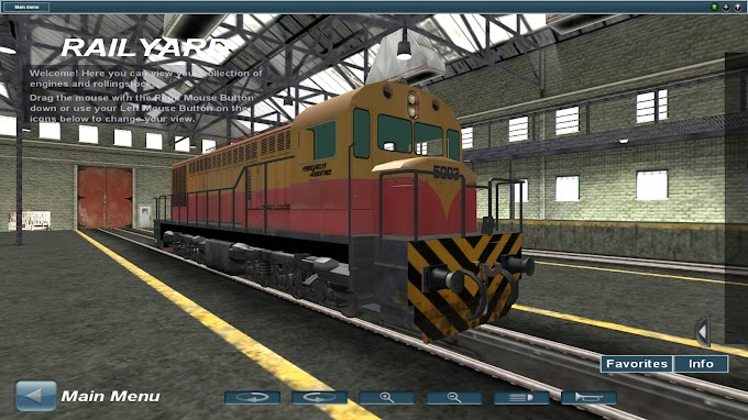 Android - GAIA 1050hp 5003 Ferrocarriles Argentinos